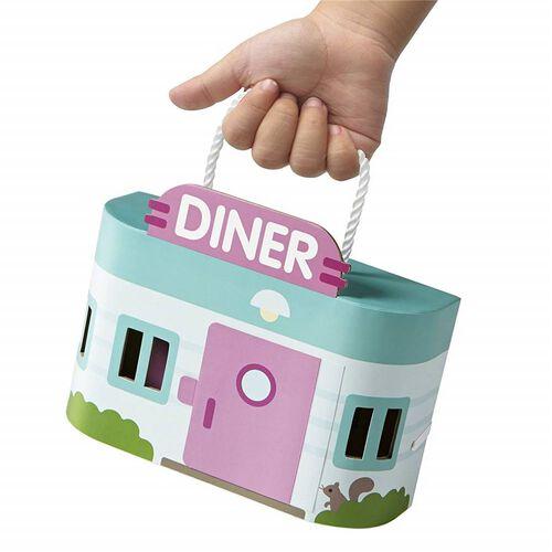 Sago Mini ซาโก้ มินิ เพลย์เซ็ทกระเป๋าหิ้ว ชุดดินเนอร์ของแจ็ค