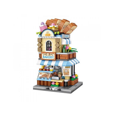 Loz ลอซ ชุดตัวต่อธีมร้านขนมปัง