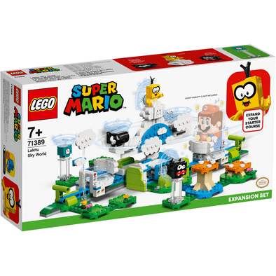 LEGO เลโก้ ซูเปอร์มาริโอ้ ลาคิตู สกาย เวิลด์ เอ็กซ์แพนชัน เซ็ต 71389