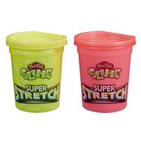 Play-Doh เพลย์โดว์ สไลม์ ซุปเปอร์ สเตร็ทช คละสี