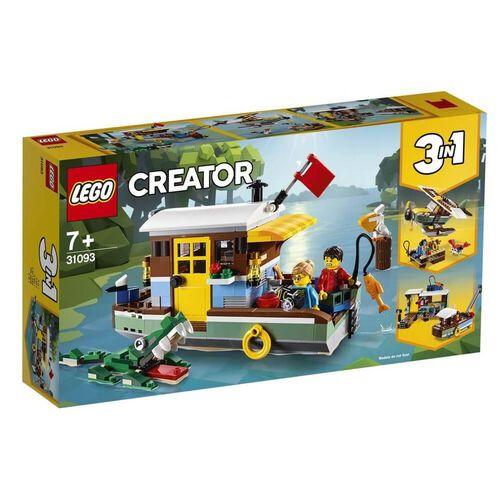 LEGO เลโก้ริเวอร์ไซด์เฮาส์โบท 31093