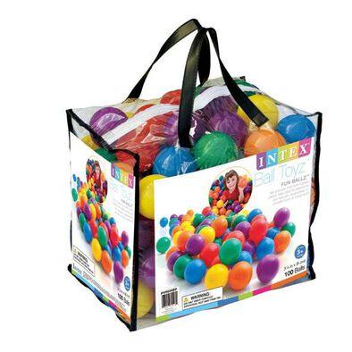 Intex ลูกบอลคละสี 100ลูก