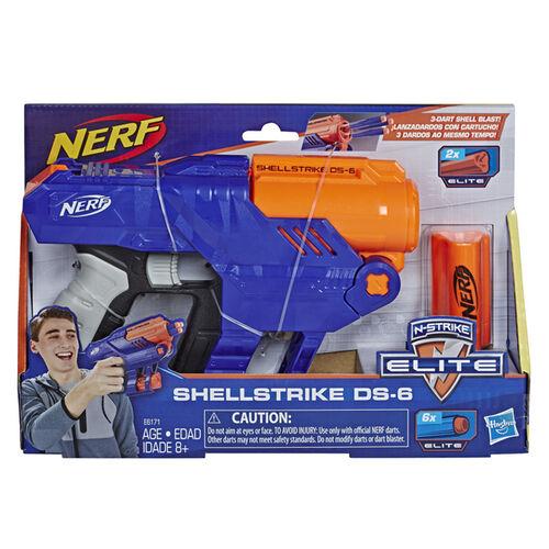 Nerf เนิร์ฟ อิลีท เชลล์สไตรค์ ดีเอส-6