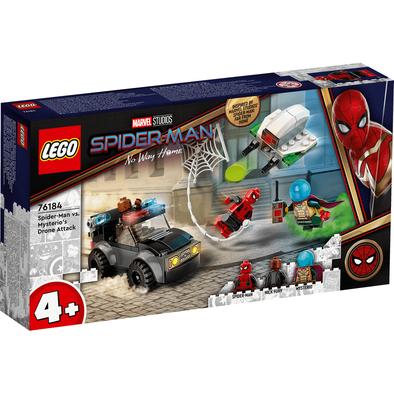 LEGO เลโก้ มาร์เวล สไปเดอร์แมน วี.เอส. มิสเตอริโอ โดรน แอ็ทแท็ค 76184