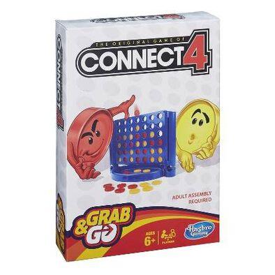 Hasbro Gaming ฮาสโบร เกมมิ่ง คอนเนค 4 แกร็บ แอนด์ โก เกม