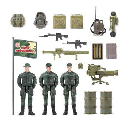 เวิลด์พีซคีพเปอร์ ฟิกเกอร์ทหาร (ทั้งหมด 3 ตัว)