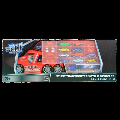 Speed City สปีด ซิตี้ สตั้นท์ ทรานสปอร์ตเตอร์ และรถ 11 คัน