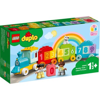 LEGO เลโก้ ดูโปล รถไฟตัวเลข เสริมทักษะการนับเลข 10954