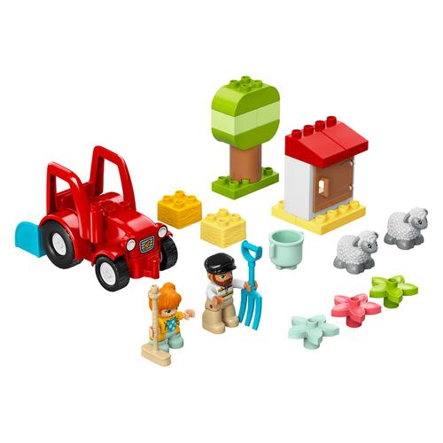 LEGO เลโก้ ฟาร์มแทรคเตอร์ แอนด์ แอนิมอลแคร์ 10950