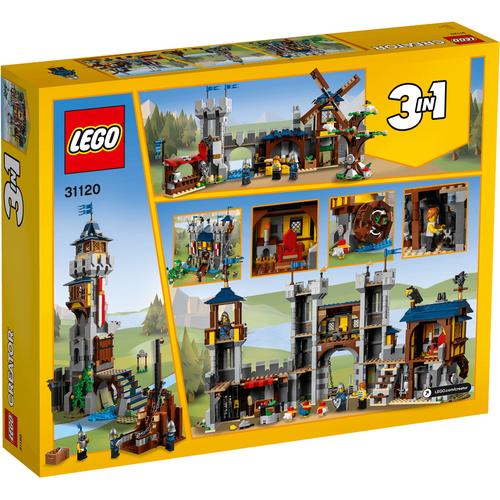 LEGO เลโก้ ครีเอเตอร์ เมดิวัล แคสเซิล 31120