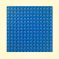 LEGO เลโก้แผ่นเพลทรองต่อ สีฟ้า 10714