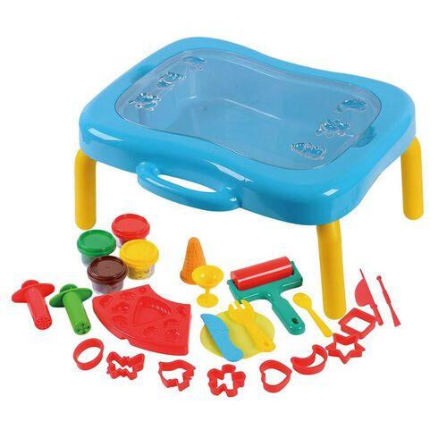 Universe Of Imagination ยูนิเวิร์ส ออฟ อิเมจิเนชั่น ชุดโต๊ะกิจกรรมเล่นแป้งโดว์