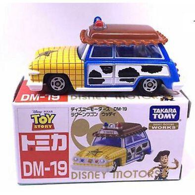 รถเหล็ก Tomica DM 19 Toy Story Woody Lagoon Wagon
