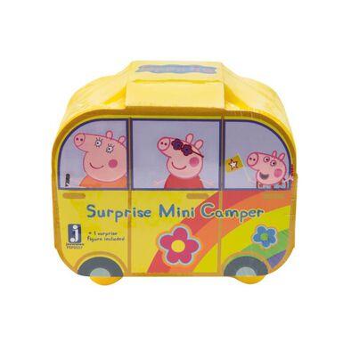 Peppa Pig เป๊ปป้าพิ๊ก ฟิกเกอร์ซองสุ่ม แคมเปอร์แวนเซอร์ไพรส์ (คละแบบ)