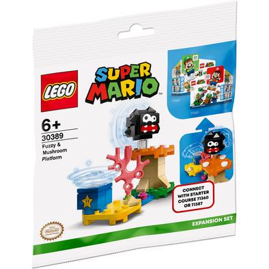 LEGO เลโก้ ซูเปอร์ มาริโอ้ ฟัซซี่ แอนด์ มัชรูม แพลทฟอร์ม 30389