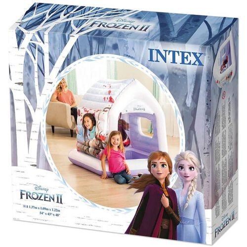 Intex บ้านบอลเป่าลม ลายโฟรเซน