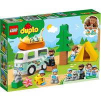 LEGO เลโก้ ดูโปล แฟมิลี่ แคมปิ้ง แวน แอ็ดเวนเจอร์ 10946