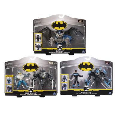 Batman แบทแมน ดีลักซ์ ฟิกเกอร์ 4 นิ้ว เมกะ เกียร์ (คละแบบ)