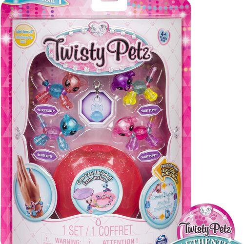 Twisty Petz ทวิสตี้ เพ็ทซ์ ชุดกำไลข้อมูลรูปสัตว์ เบบี้แพ็ก 4 คละแบบ