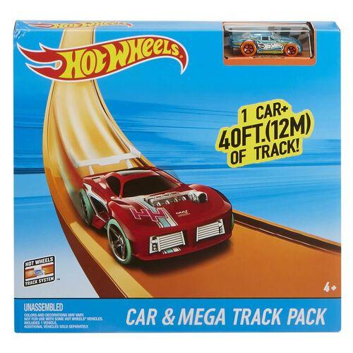 Hot Wheels ฮอตวีล รางรถแข่ง แทรค บิ้วเดอร์ คาร์