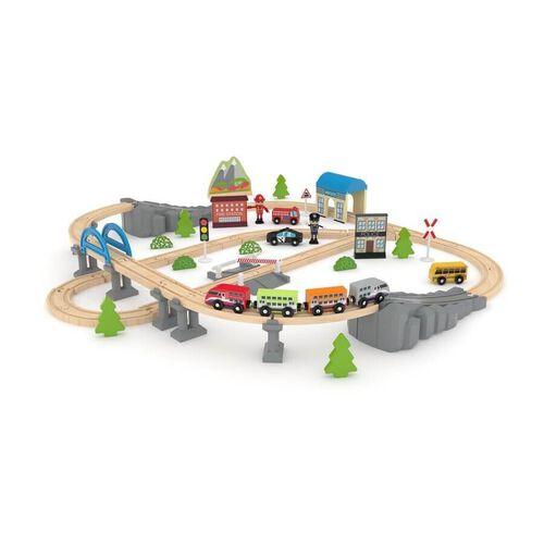 J'adore ฌาดอร์ ของเล่นไม้ชุดรถไฟ