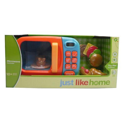 Just Like Home ไมโครเวฟ อิเล็กทรอนิก สีน้ำเงิน