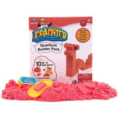 Mad Mattr แมด แมทเทอร์ ชุดแป้งโดมหัศจรรย์ สีแดง พร้อมแม่พิมพ์บล็อกเลโก้
