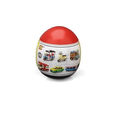 Loz ลอซ มินิบล็อคครีเอเตอร์ ต่อต่อรถไทย ซีรีส์ 1 แบบไข่สุ่ม (คละแบบ)