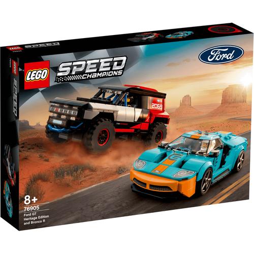 LEGO เลโก้ ฟอร์ด จีที เฮอริเทจ เอดิชั่น แอนด์ บร็องโค อาร์ 76905