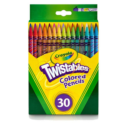 Crayola เครโยล่า สีไม้หมุนได้ 30สี ไม่ต้องเหลา