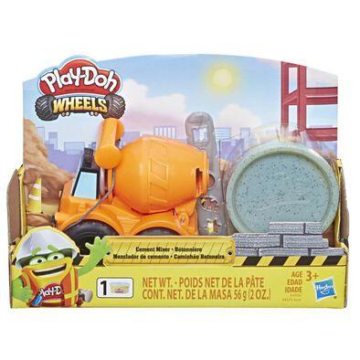 Play-Doh Wheels เพลย์โดว์ วีลส์ ยานพาหนะจิ๋ว พร้อมแป้งปั้น คละแบบ