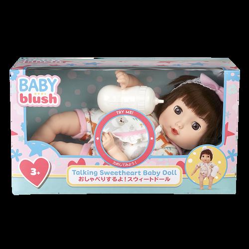 Baby Blush เบบี้ บลัช ทอล์คกิง สวีทฮาร์ท เบบี้ ดอลล์ เซ็ต