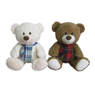 ตุ๊กตาหมี ขนาด 15.5 นิ้ว พร้อมผ้าพันคอ