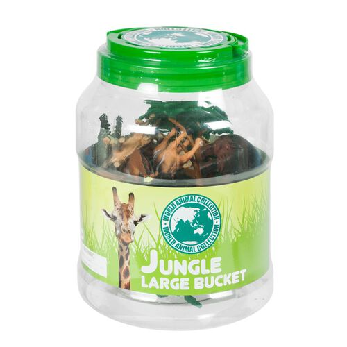 World Animal Collection เวิลด์ แอนิมอล คอลเลคชั่น ชุดฟิกเกอร์สัตว์ป่า กล่องใหญ่