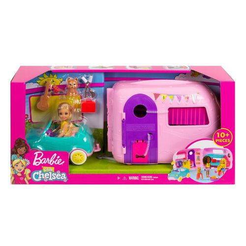 Barbie คลับ เชลซี แคมเปอร์ เพลย์เซ็ต