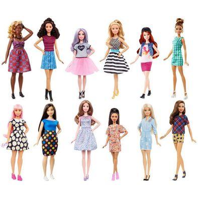 Barbie บาร์บี้ ตุ๊กตาแฟชั่นนิสต้า (คละลาย)