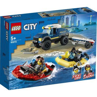 LEGO เลโก้ อีลีท โปลิศ โบ๊ท ทรานสปอร์ต 60272