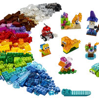 LEGO เลโก้ ครีเอทีฟ ทรานส์แพเร็น บริคส์ 11013