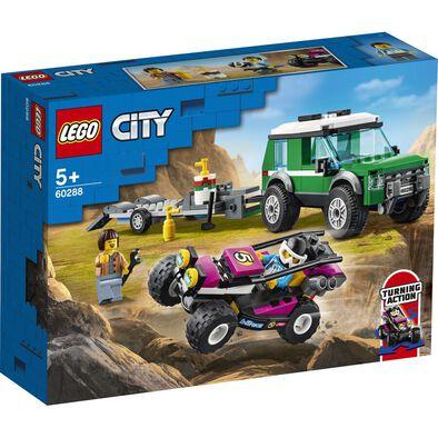 LEGO เลโก้ ซิตี้ เรซ บักกี้ ทรานสปอร์ตเตอร์ 60288