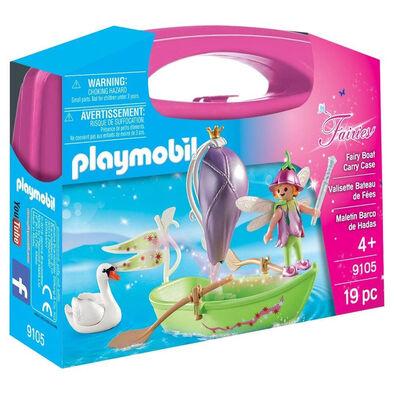 Playmobil เพลย์โมบิล ชุดเรือแฟรี่ ในกล่องกระเป๋าถือ