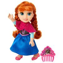 Disney Frozen ดิสนีย์ โฟรเซ่น เด็กน้อย และชุดกลิตเตอร์ ขนาด 6 นิ้ว