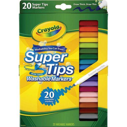 Crayola เครโยล่า สีเมจิกซุปเปอร์ทิปส์ 20สี