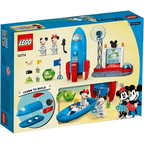 LEGO เลโก้ ดีสนีย์ มิกกี้ เมาส์ แอนด์ มินนี่ เมาส์ สเปซ ร็อค 10774