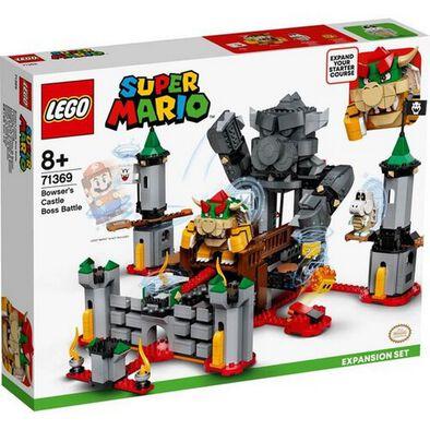 LEGO เลโก้ ซูเปอร์มาริโอ้ เบาว์เซอร์ แคสเซิล บอส แบ็ทเทิล เอ็กซ์แปนชั่น 71369