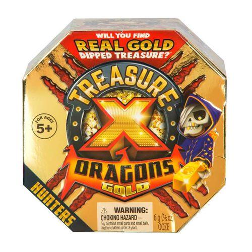 Treasure X ทรีเชอร์ เอ็กซ์ ดราก้อน โกลด์ ทรีเชอร์ ฮันเตอร์