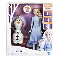 Disney Frozen ดิสนีย์ โฟรเซ่น 2 โอลาฟ แอนด์ เอลซ่า