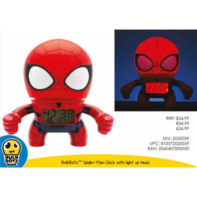 Bulbbotz Clock Spider-Man นาฬิกาสไปเดอร์แมน 7.5นิ้ว