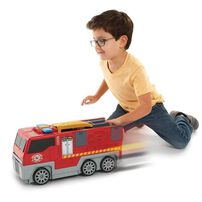 Fast Lane ฟาสท์เลน ชุดของเล่น ไฟร์ ซิตี้ (พับได้) มีรถ 2 คันในเซท