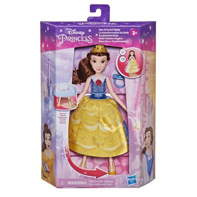 Disney Princess ดิสนีย์ ปริ้นเซส สปิน แอนด์ สวิตซ์ เบลล์ ,แฟชั่นดอลล์