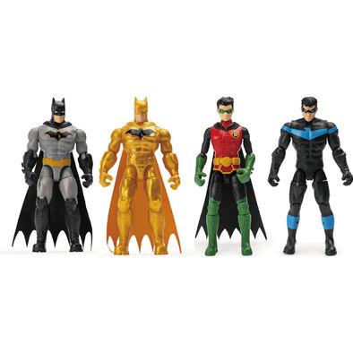 Batman แบทแมน เบสิก ฟิกเกอร์ ขนาด 4 นิ้ว (คละแบบ)